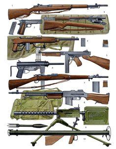 Оружие американского пехотинца