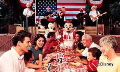 Mickeys Backyard BBQ - This looks like so much fun, with or without kids.