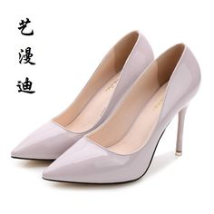 2017 Small Size 31-40 Patent Leather Sexy Thin High Heels Women Pumps Ladies Shoes Woman Chaussure Femme Talon Mariage 32 33 34