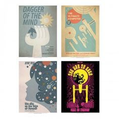 Star Trek: The Original Series Art Prints - Set 1 | Shop By Category | Home & Office | Posters & Art | Juan Ortiz Art Prints | Star Trek Store