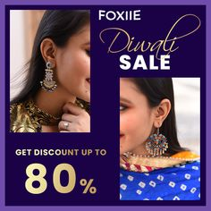 This Diwali Shine a little brighter with Foxiie Jewellery specially curated for the festive season 🤩 Get Discount UpTo 80% ✨ #Diwali #diwalispecial #Diwali2020 #diwalisale #diwaligifts #diwaligiftsjewelry #diwalijewellery #jewellerytalks #jewellerylover #jewellerydesign #foxiie #foxiietrends Diwali Jewellery, Jewellery Sale, Fashion Jewellery Online Shopping, Diwali Sale, Diwali Gifts, Oxidised Jewellery, Imitation Jewelry, Stylish Jewelry, Online Shopping Stores
