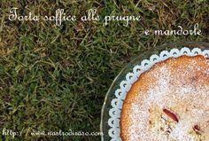 Torta morbida di prugne e mandorle