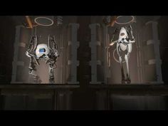Portal 2 - Full Co-op Trailer The full trailer of the Co-op bots as seen at PAX source Portal 2, Fan Signs, Game Theory, Most Popular Videos, Storytelling, All About Time, Geek Stuff, Games, Xbox