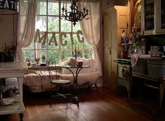 cozy kitchen spot