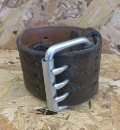 Leather Cuff Mens Leather Cuff Womens Leather Cuff by LiVnSoL  $65