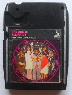 "The 5th Dimension ""The Age of Aquarius"" (1969) 8-Track Cassette"