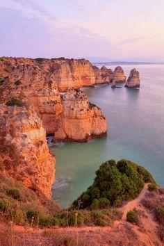 maya47000:  Sunrise lagos Portugal coast by Monica and Michael Sweet