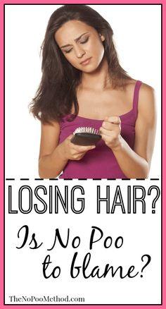 Losing Hair: Is No Poo To Blame - The No Poo Method