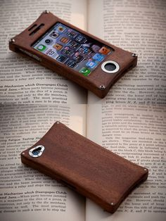 Wooden iPhone Case by back2root.deviantart.com on @deviantART