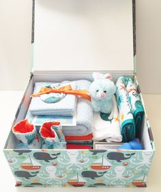 New Born Gift SetBaby Shower Gifts Handmade by ForDahBaby on Etsy