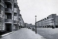G.J. Rutgers, Hoofdweg, Amsterdam 1925-1927 ( bebouwing Rutgers links)