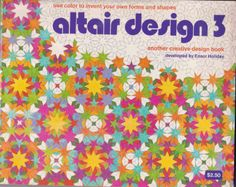 Altair Design pattern pad/colouring book from 1976...Loved these.