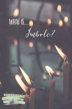What is Imbolc? Imbolc marks the half way point between the Winter Solstice and Spring Equinox. It is a day dedicated to the goddess & saint Brigid and to the fertility of the spring yet to come. Infertility Symbol, Imbolc Ritual, Pagan Festivals, St Brigid, Seasonal Celebration, I Love Winter, Triple Goddess, Yet To Come, Winter Solstice