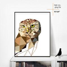 Printable wall art Geometric art Printable by printitbirds on Etsy