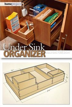 Under Sink Organizer - Furniture Plans and Projects | WoodArchivist.com