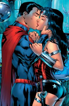 "Comics and nothin' but — Superman/Wonder Woman #28 - ""Last Kiss""..."