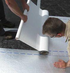 Peel And Seal Install Roll Roofing Rv Roof Repair Roof Repair