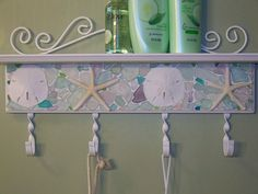 Sea Glass Shelf by mornindew2822, via Flickr