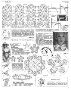 crochet irish flower