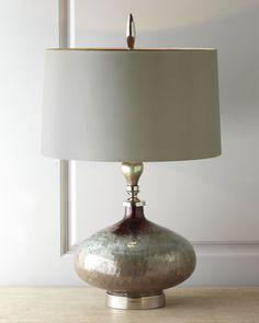 "John-Richard Collection ""Rainwater on Glass"" Table Lamp"
