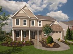 The Franklin Plan in the new home community of Augusta Meadows. 3 bedrooms, 2.5 baths, 2 car garage. From $149,995. Ryland Homes, Indianapolis.