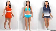 Com medidas realistas e celulite, 'rival' da Barbie começa a ser vendida - BBC Brasil