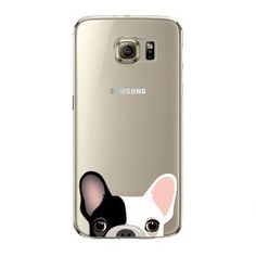 Phone Case for Samsung Galaxy S5 S6 S6Edge S6Edge+ Soft TPU Silicon Transparent Thin Cover Cute Cat, Dog, Animals Skin Shell