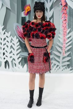 Chanel - Paris Fashion Week - Primavera Verano 2015 - Fashion Runway