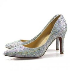 Cheap Christian Louboutin Crystal Covered Point-Toe Pumps Sale : Christian Louboutin$194.02