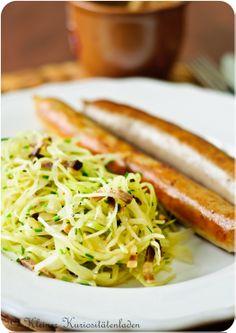 Bayrischer Krautsalat und der ultimative Bratwursttest   Kleiner Kuriositätenladen