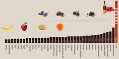 porovnání antioxidačních schopností potravin