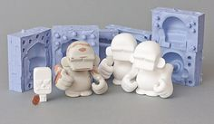 Resin Toy Projekt - Grunkey by Florian Fricke, via Behance