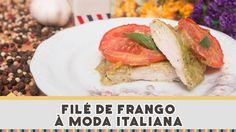 Filé de Frango a Moda Italiana - Receitas de Minuto EXPRESS #132