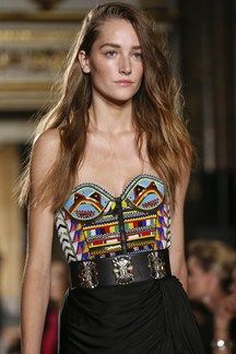 Pucci's SS14 hair and makeup on Joséphine Le Tutour