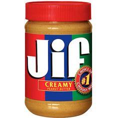 Jif Creamy Peanut Butter,  28 oz