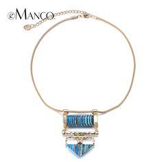 Натуральный камень ожерелье золотой цепи змейки колье ожерелье 2015 краткая стиль женщины синий камень себе ожерелья eMancoкупить в магазине EMANCO ACCESSORIES (HK) CO., LIMITED--Fashion jewelryнаAliExpress