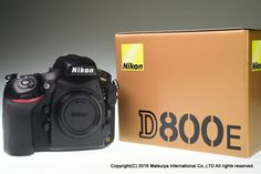 NIKON D800E 36MP Digital Camera Body Excellent+ #Nikon