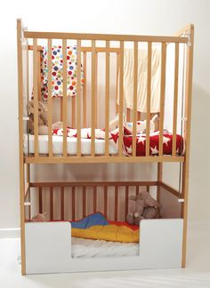 cot criba great idea for small apartments