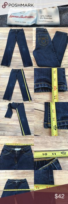 🌿10-12 Hanna Andersson Girls Slim Straight Jeans Measurements are in photos. Worn once, no flaws. B3  I do not comment to my buyers after purchases, do to their privacy. If you would like any reassurance after your purchase that I did receive your order, please feel free to comment on the listing and I will promptly respond. I ship everyday and I always package safely. Thanks! Hanna Andersson Bottoms Jeans