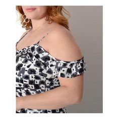 Vestido longo é prático e a cara do verão! O detalhe em fenda lateral está um arraso! Confiram mais detalhes em www.fammix.com.br  #fammix #modagrande #modafeminina #modaplussize #plussize #plussizefashion #plussizebrasil #plussizemodel