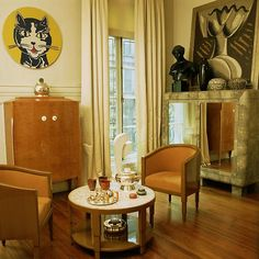Gastou residence, Paris. Interior: Yves Gastou. Photo Elizabeth Heyert.