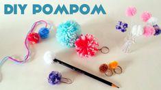 Oi pessoal! Vídeo novo nocanal  Knanda Artes    Aprenda a fazer Pompom! No vídeo mostro  duas técnicas simples para   fazer p...