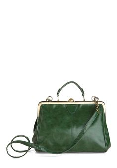 Believe It or Not Bag in Emerald | Mod Retro Vintage Bags | ModCloth.com