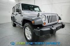 eBay: 2013 Jeep Wrangler 4x4 AWD Sport Manual Running Boards Connectivity T 2013 Jeep Wrangler Unlimited #jeep #jeeplife