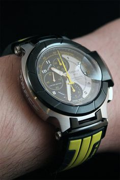 Tissot T Race MotoGP 2012 Automatic Chronograph Watch Review   wrist time watch reviews
