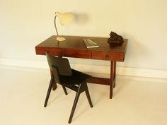 bureau palissandre saporiti - maisonsimone.com #vintage #design #interior #home