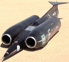Thrust SSC holds the World Land Speed Record, set on 15 October 1997, when it achieved a speed of 1,228 km/h (763 mph) and became the first car to officially break the sound barrier.