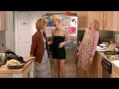 Helen Harris: It's like they've never seen a dress before!   Jenny Portman: No, they've just never seen a half of a dress.