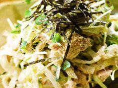 モリモリ食べて!大根とツナのサラダの画像