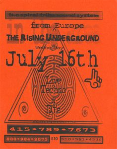 Old School Rave Flyers